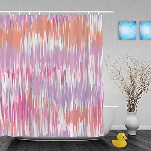 Faux animali pois Decor Bagno Tende da doccia modello esclusivo per tende da doccia impermeabile poliestere tessuto 152,4x 182,9cm Inch, Multi10, 72(length) X 60(width)
