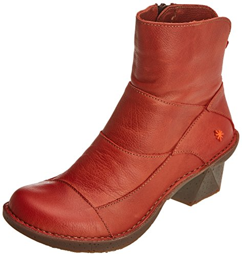 Art Damen Oteiza Kurzschaft Stiefel Orange (Memphis Petalo 621)