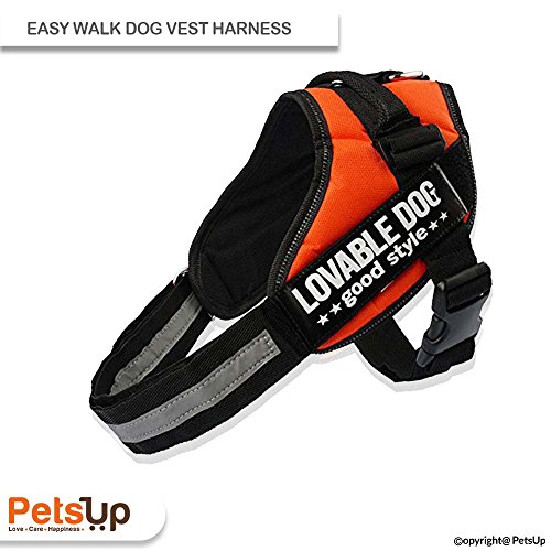 PetsUp Easy Walk Dog Vest Harness perfect for Pet Walking, Training and Mobility