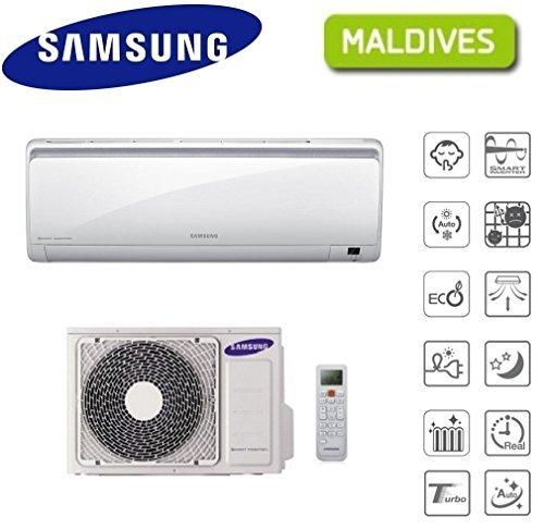 Condizionatore/climatizzatore inverter 12000btu samsung maldives - ar12ksfpewq (cod.:4310)