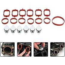 KKmoon 6PCS / 4PCS 22mm Tapón de Conversión de Válvula de Motor Trampa de Esteras para BMW 320d 330d 520d 525d 530d 730d