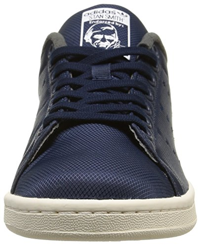 adidas Originals Stan Smith, Chaussures de Skateboard mixte adulte Bleu (Collegiate Navy/Collegiate Navy/Dgh Solid Grey)
