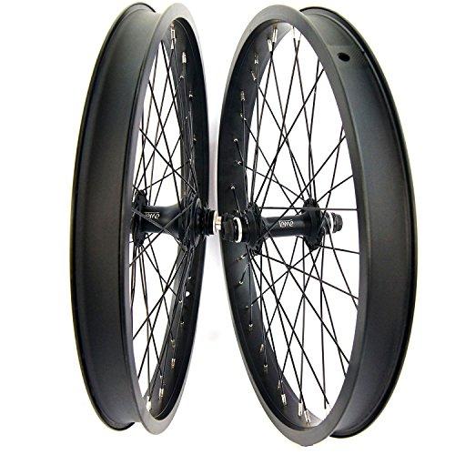 Bmx-bikes Vans (Tackle BMX 50,8cm Laufradsatz 9T Kassette Rad versiegelt vorne und hinten Buchse Achsen schwarz Freestyle)