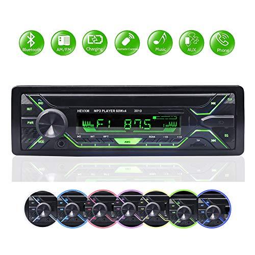 BETECK Autoradio Bluetooth 1 DIN Stereo Auto Car Radio Ricevitore Supporta FM USB SD AUX con Telecomando