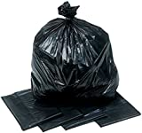 Heavy Duty Black Bin Bags 15 Kilogram Rating Sacks x 200