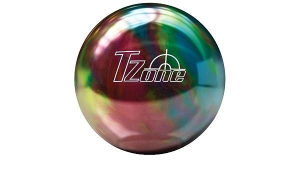 Brunswick TZone Rainbow Twist Boule de bowling rouge Rouge