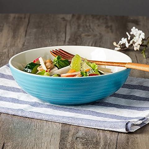 Saladiers de service bols en céramique 17,8cm Big Salade de fruits Bol à dessert