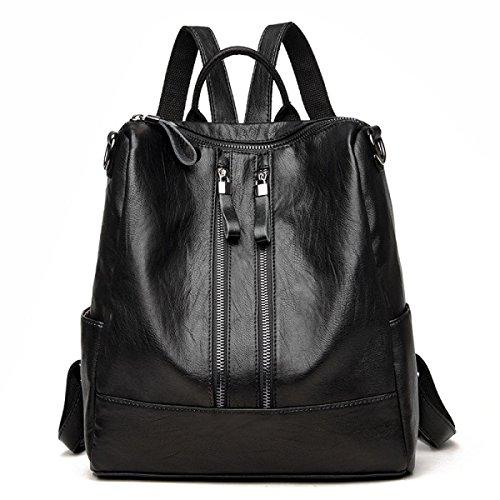 Dame Rucksack Umhängetasche Fashion Wild Schultasche Lady Multifunktions Einfache Handtaschen A