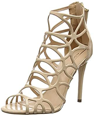 Aldo Women's Eryde Heels Sandals, Off White (Bone / 32), 3 UK