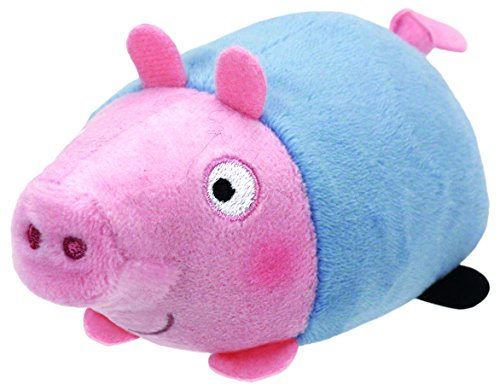 Teeny Ty Peppa Pig - George - 8cm 3""