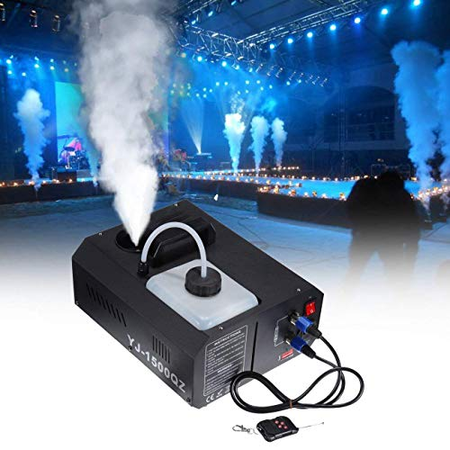 Theefun 400 Watt matrimoni teatri Macchina per fumo feste e Disco Club effetto DJ. con telecomando cablato Halloween tecnica di palcoscenico per regali di Natale professionale e portatile
