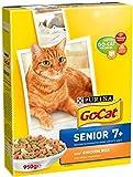 Go-Cat complet senior au poulet, riz et légumes (950g) - Paquet de 6