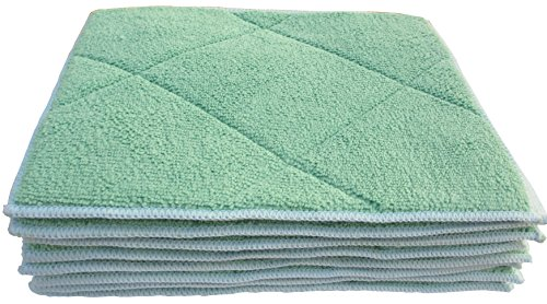 gryeer-bamboo-microfibre-dish-cloths-with-sponge-pad-easy-care-multi-purpose-kitchen-wash-cloths-20x