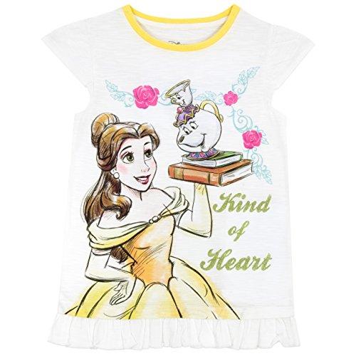 Preisvergleich Produktbild Disney Die Schöne und das Biest Mädchen Beauty and the Beast T-Shirt 116