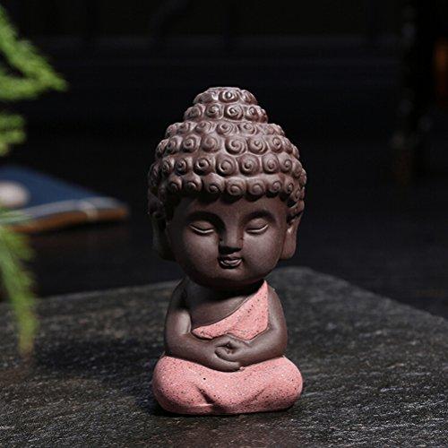 jettingbuy Süßer kleiner Buddha Statue