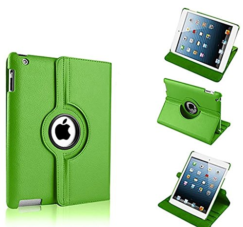 Preisvergleich Produktbild New Green PU Leder 360° rotierender Ständer Schutzhülle für iPad Pro 12,9
