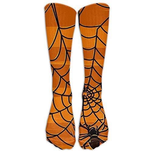 Halloween Pattern Cotton Reliability Compression Knee Socks Elasticity Athletic for Teen Cartoon Knee Long Tube Crew Socks