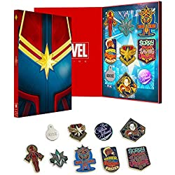 Marvel Official Captain Collectors Pin Badge Set