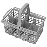 Genuine Smeg lavastoviglie posate basket Cage & Handle (8 scomparti)