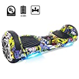 Windgoo Hoverboard 6,5 Pouces,Overboard Gyropode Smart Scooter 700W Self Balance Board avec LED...