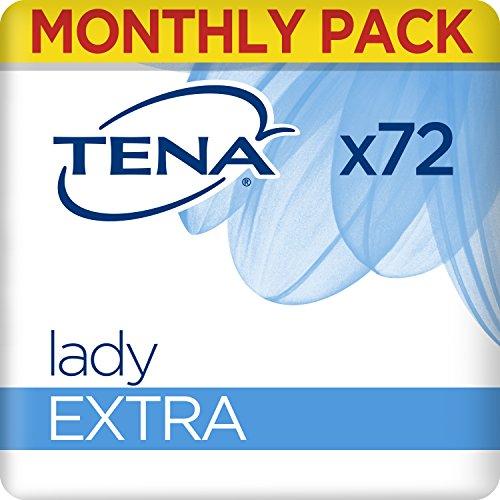 TENA Lady Extra, Compresas - 72 Unidades