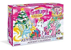 CRAZE Calendario de Adviento GALUPY 2019 Calendario de juguetes para niños para Navidad Caballos relucientes 19450