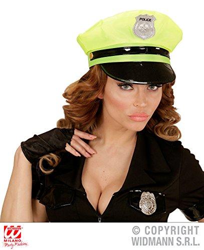 MÜTZE - POLICE - gelb, Junggesellinenabschied Jungesellenabschied Kopfbedeckungen Hen Girls Night Party Polizei Hut