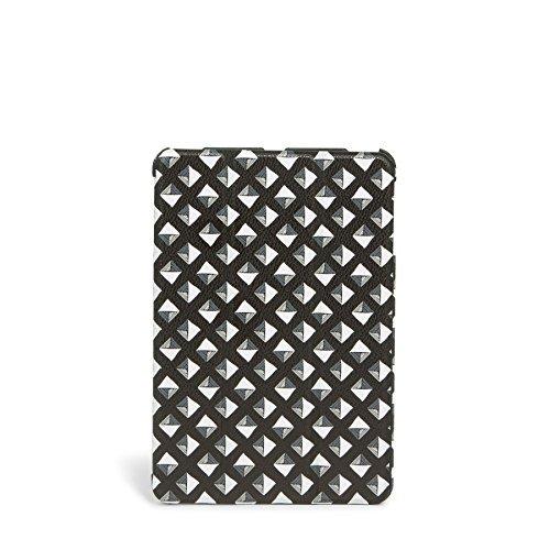 Vera Bradley Mini Flip-Fold Tablet Case in Black White Studs -