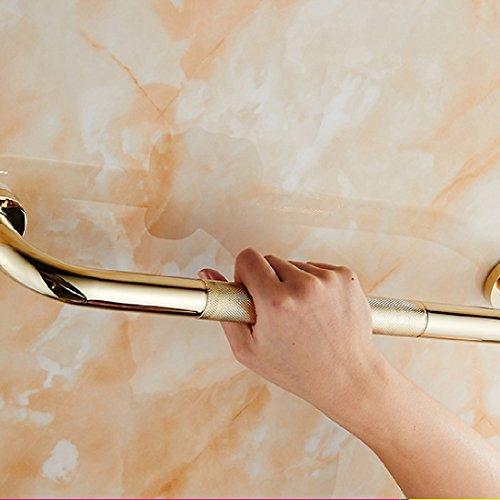 SDKKY Barres de sécurité dans Le Bain Salle de Bains Petit cuivre sculpté Main Courante de la sécurité des Enfants âgés Couloir Toilettes Main Courante Montants,B