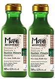 Maui Moisture Verdickungs- und Reparaturshampoo, 2er-Pack, Bambus-Faser-Shampoo, 385ml und Reparatur-Spülung mit Bambus-Fasern, 385ml