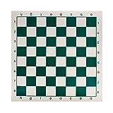 Andux tablero de ajedrez tablero de ajedrez 33cm x 33cm pliegan jugar estera XQQP-01