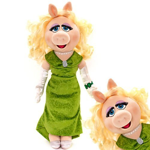 Disney Muppets Most Wanted 52 centimetri Miss Piggy morbido peluche