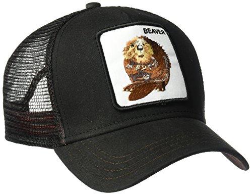 Goorin Bros. Beaver Waxed Trucker cap - Black