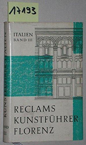 Florenz. Mit 31 Abbildungen im Text und 48 Bildtafeln sowie 2 Übersichtsplänen.