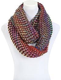 Schal Schlauchschal Grobstrick Loop bunt Multicolor flauschig in verschiedenen Farben