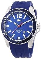 Reloj Lacoste 2010665 de cuarzo para hombre, correa de silicona color azul de Lacoste