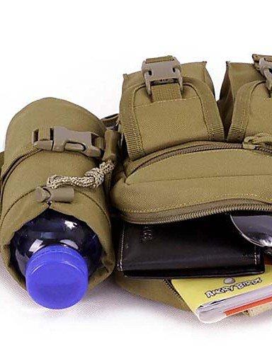 ZQ 5L L Hüfttaschen Camping & Wandern / Klettern / Legere Sport / Reisen / Laufen Outdoor / Legere Sport Wasserdicht / tragbarSchwarz / Brown