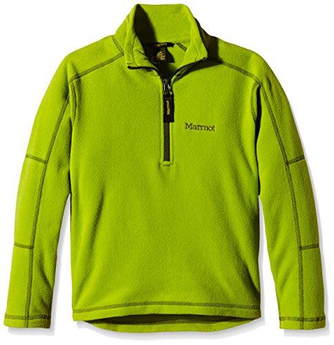 marmot-rocklin-sudadera-para-hombre-con-cremallera-hasta-la-mitad-otono-invierno-nino-color-verde-gr