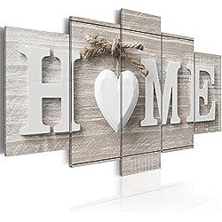 murando Impression sur Toile intissee 100x50 cm 5 Parties Tableau Tableaux Decoration Murale Photo Image Artistique Photographie Graphique m-A-0685-b-m Home
