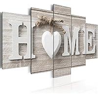 murando - Impression sur toile - 100x50 cm - 5 pieces - Image sur toile - Images - Photo - Tableau - motif Moderne - Décoration - tendu sur chassis - m-A-0685-b-m Home