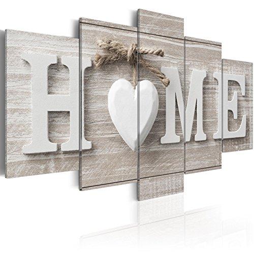 murando - Quadro 200x100 cm – XXL Formato - Quadro su tela fliselina - Stampa in qualita fotografica – 5 Parti- Astratto m-A-0685-b-m Home Casa