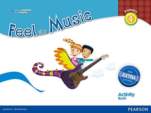 Feel The Music 4. Activity Book Pack - Edición LOMCE (Siente la Música) - 9788420564326 por Fernando Martín de Argenta Pallarés