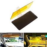 Ndier Auto Visor Sonnenblende, Sonnenschirm für Auto 2 in 1 Ich und Nacht Fahren Hood Objektiv Auto Blendschutz Anti-Glare Anti-UV