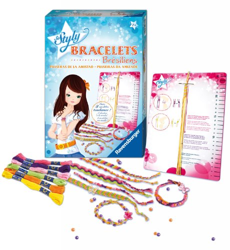 Ravensburger–18376–Creative Leisure–Brazilian Bracelets