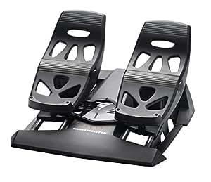 Thrustmaster - TFRP- T.Flight Rudder Pedals - Palonnier Ergonomique pour PS4/PC/XBOX One