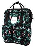 DISA Mochila Mini Bolsa Pañal Viajar Mujer | 35x23x15cm | Rosa Gris