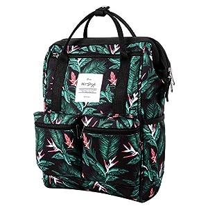 51bxZptVMPL. SS300  - DISA Mochila Mini Bolsa Pañal Viajar Mujer   35x23x15cm   Tropical, Rosa