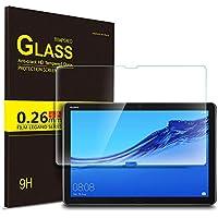 IVSO Pellicola Protettiva per Huawei Mediapad M5 Lite 10, Pellicola Protettiva Schermo in Vetro Temperato per Huawei Mediapad M5 Lite 10, 1 Pack