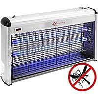 PrimeMatik - Matamoscas y Mosquitos eléctrico Lámpara Mata Insectos voladores y Moscas 40 W