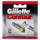 Gillette Contour 5 Austauschklingen - 5 Stück